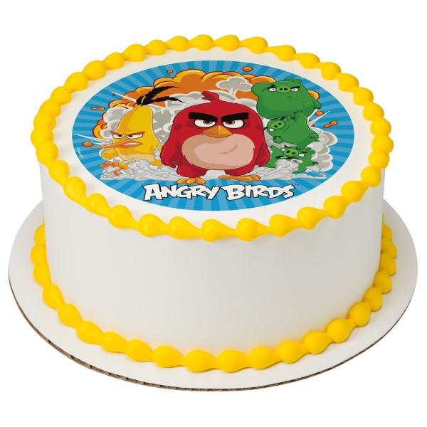 Angry Birds Boom Edible Image PhotoCakeR