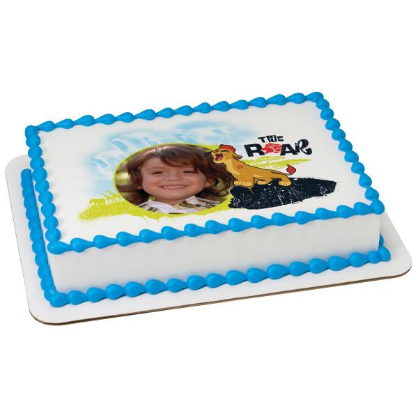Frozen Birthday Disney Rectangle Cake Pretty Picturesboss