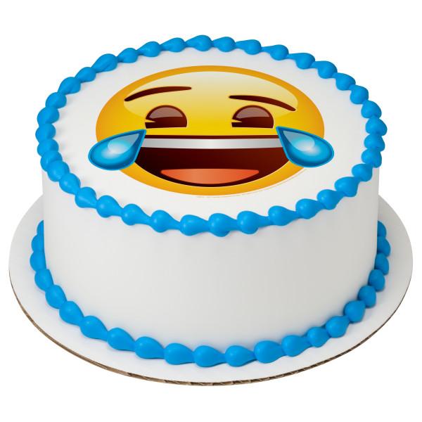 Emoji Tears Of Joy Photocake Image