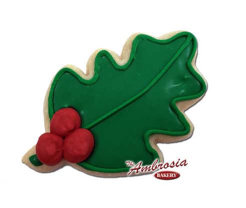 Mistletoe Cutout Cookie