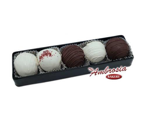 Variety Cake Balls - Gift Box of 5