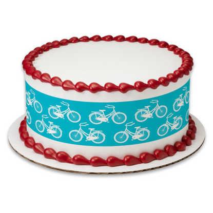Bicycle PhotoCake® Image Strips