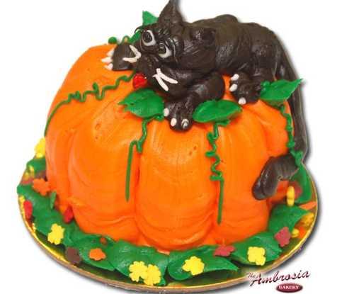 Cupcake Pumpkin Cat