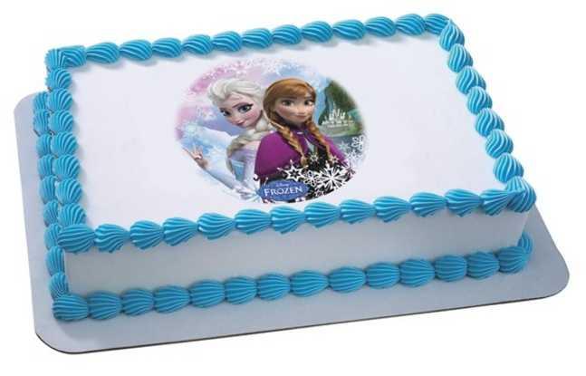 Disney FROZEN - Sisters Edible PhotoCake®
