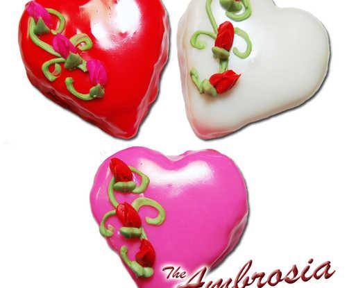 Heart Shaped Petit Four