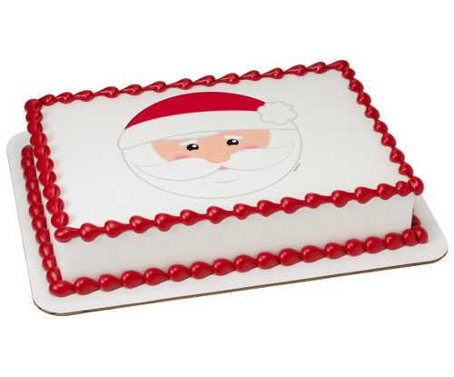 Be Jolly Santa Caucasian PhotoCake® Edible Image®