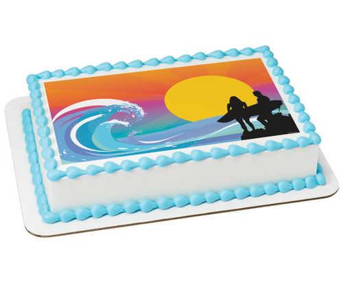 Surfing PhotoCake® Edible Image®