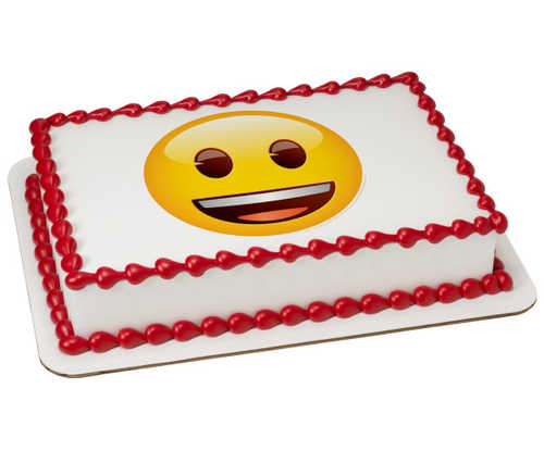 Emoji Smiley PhotoCake庐 Image