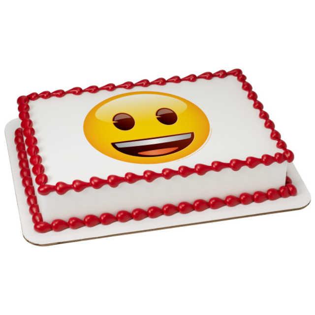 Emoji Smiley PhotoCake® Image