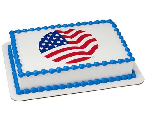 American Flag PhotoCake®