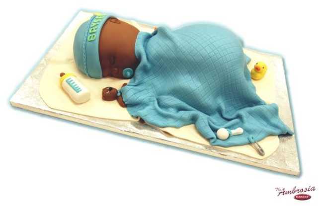 3-D Fondant Baby