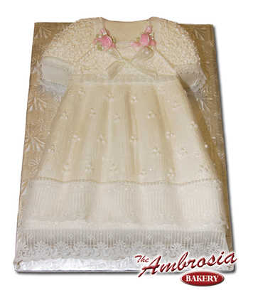 Buttercream Christening Gown