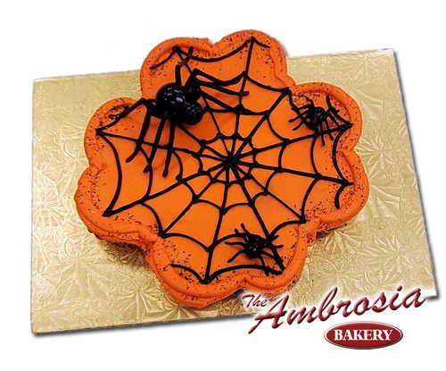 Spooky Spider Cupcake Cake