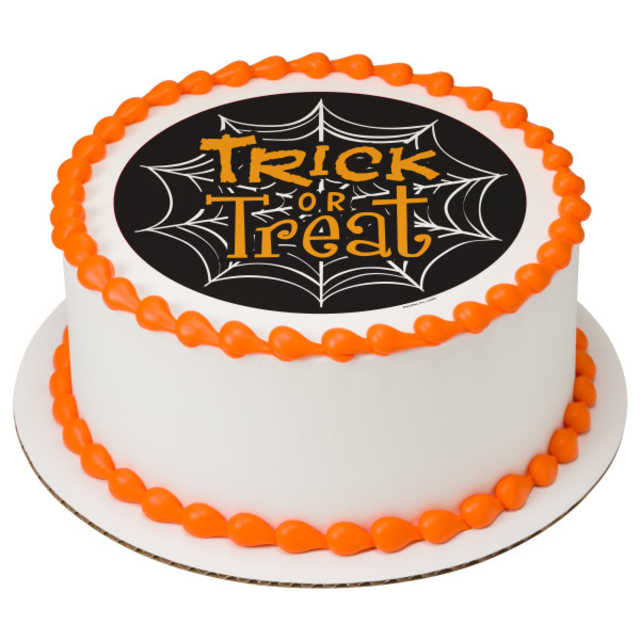 Trick or Treat Web PhotoCake® Image