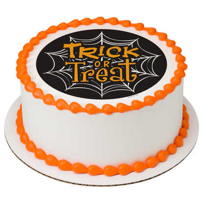 Trick or Treat Web PhotoCake® Image