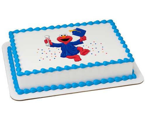 Sesame Street® Elmo Graduate PhotoCake® Edible Image®