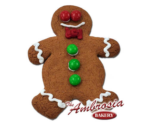 Gourmet Ginger Boy Cookie - Decorated