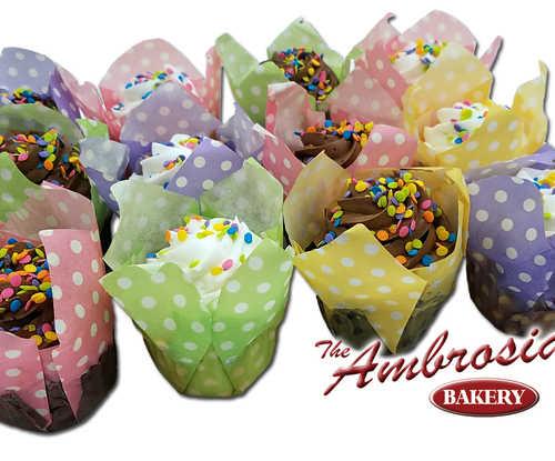 Cupcakes (Tulip Containers)