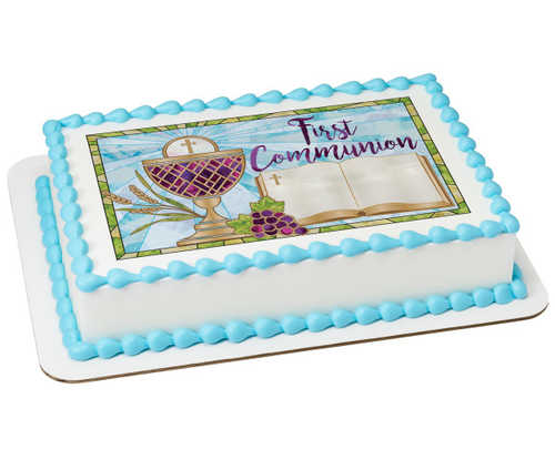 First Communion PhotoCake® Image