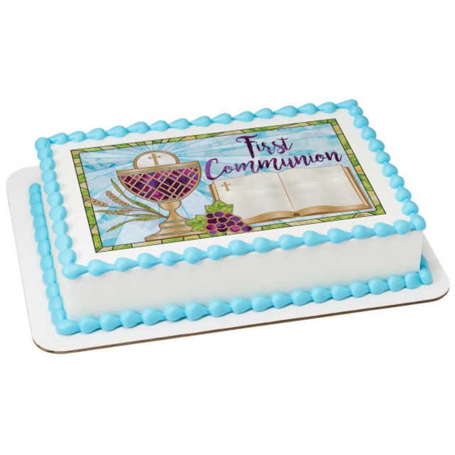 First Communion PhotoCake® Image