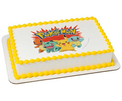 Pokemon Party PhotoCake®
