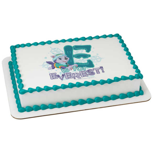PAW Patrol E is for Everest PhotoCake® Image