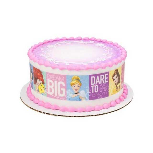 Disney Princess Dream Big Princess - PhotoCake® Image Strips
