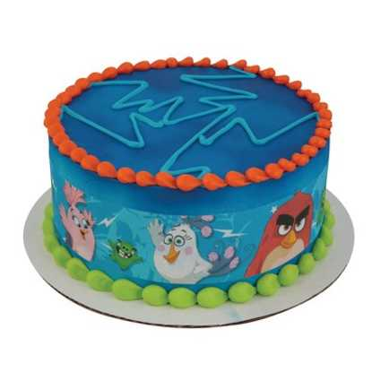 Angry Birds Better, Faster, Angrier PhotoCake® Image Strips