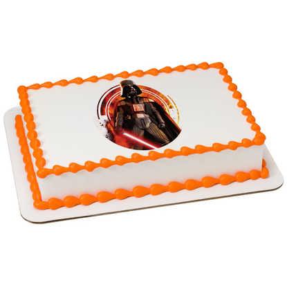 Star Wars DARTH VADER Edible Image® Cake