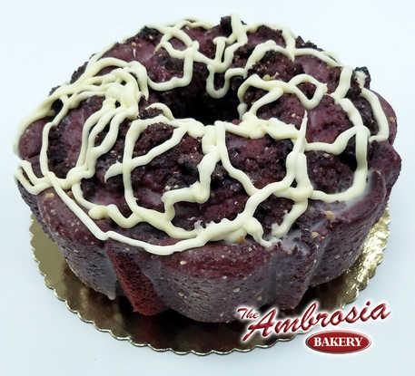 Red Velvet & Cream Cheese Pound Cake