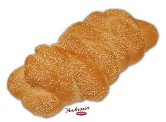 Italian Braided Bread, Loaf