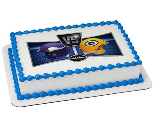NFL Match-Up PhotoCake® Edible Image® Frame
