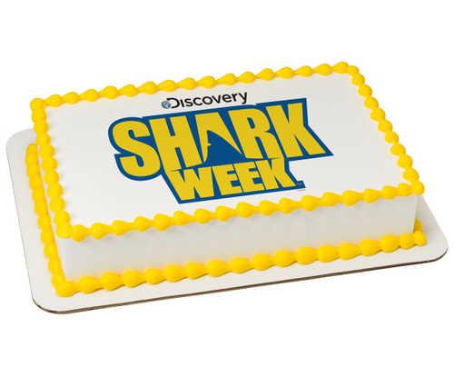 Discovery Shark Week PhotoCake® Image