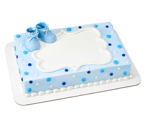 Baby Booties - Blue
