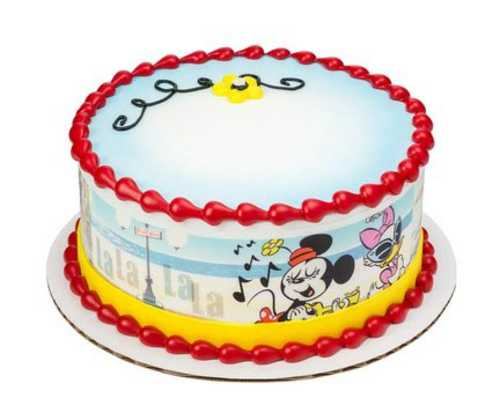 Mickey & Friends Mickey Shorts PhotoCake® Image Strips