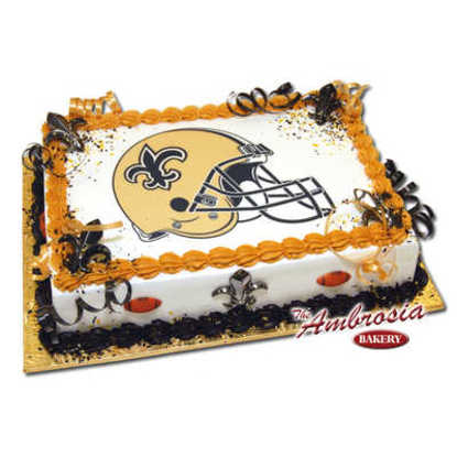SAINTS - Edible Image - PhotoCake®
