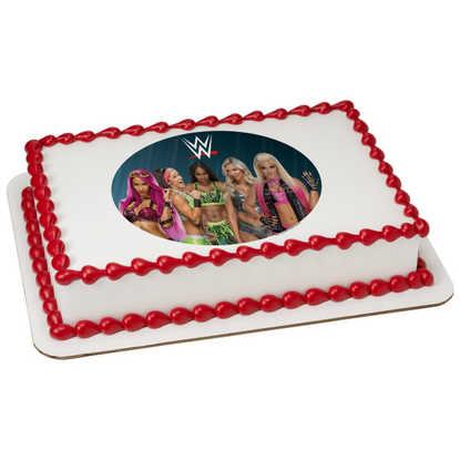 WWE Divas PhotoCake® Image