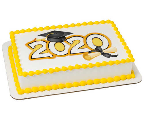 Traditional Grad 2020 PhotoCake® Edible Image®