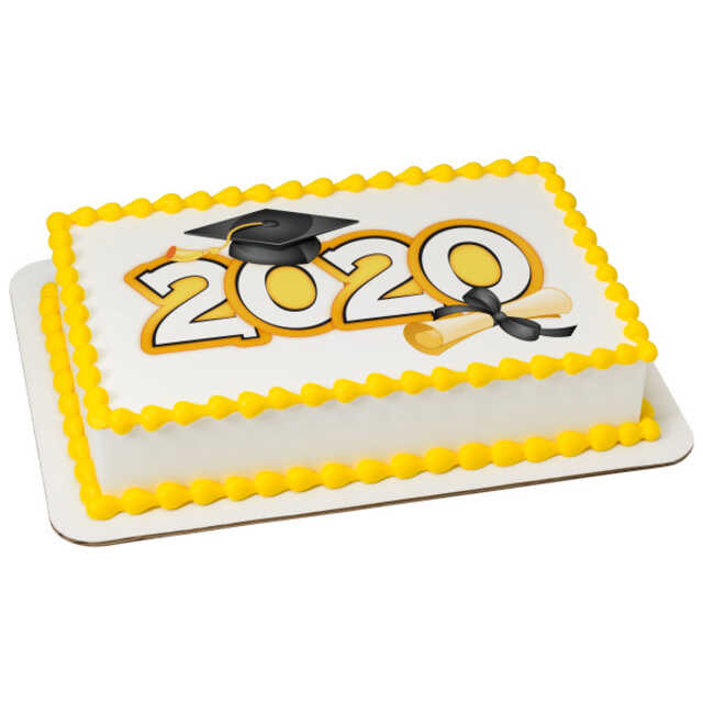 Traditional Grad 2020 PhotoCake® Edible Image®