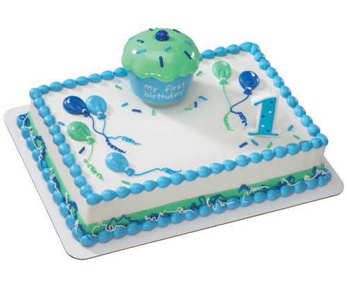 Cupcake Keepsake Blue DecoSet®