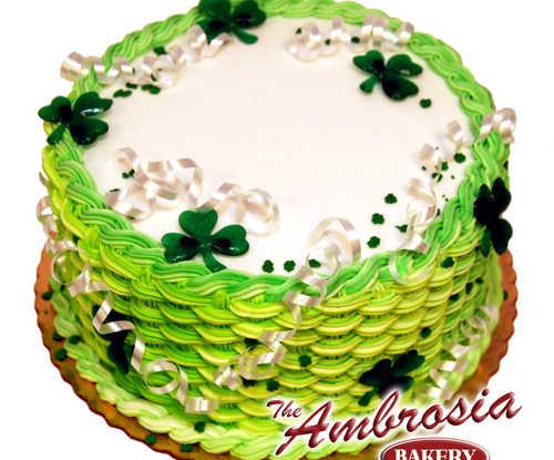 St. Patrick's Day Basket Weave