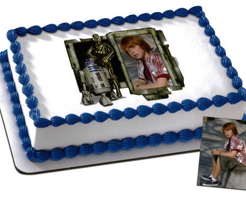 Disney - STAR WARS, R2D2 and C3PO PhotoCake® Frame