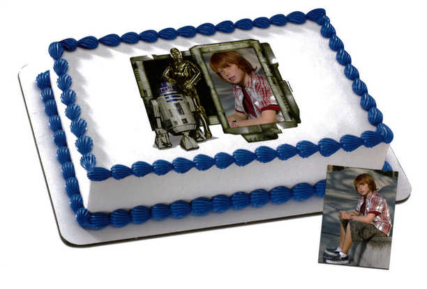 Disney - STAR WARS, R2D2 and C3PO PhotoCake® Frame