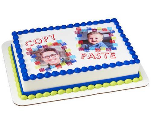 Copy And Paste PhotoCake® Edible Image® Frame