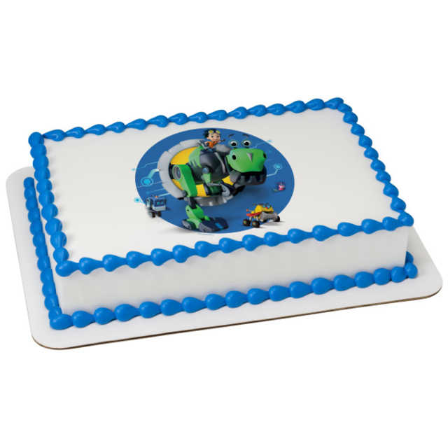 Rusty Rivets™ Time to Bolt! PhotoCake® Edible Image®