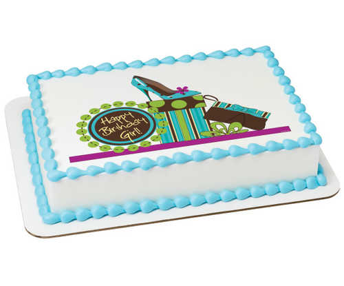 Birthday Girl PhotoCake® Edible Image®