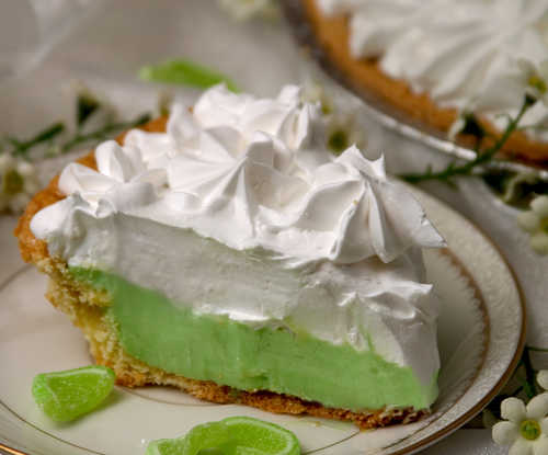 Key Lime Condensed Pie