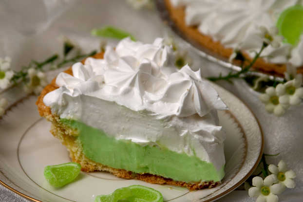 Key Lime Condensed Pie