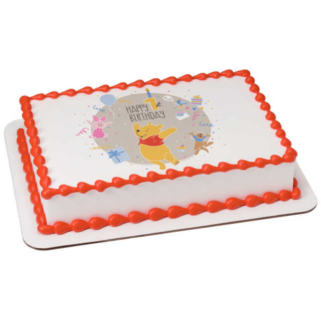 Disney - Winnie the Pooh Happy 1st Birthday PhotoCake®