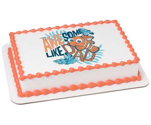 Finding Nemo Baby Nemo Boy PhotoCake® Edible Image®